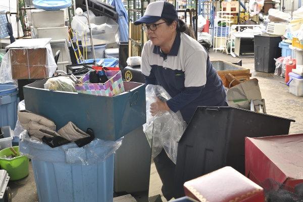 生ゴミ・粗大ごみの廃棄