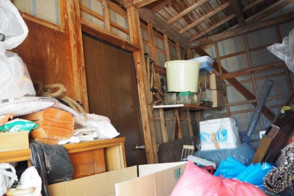 物置小屋の解体