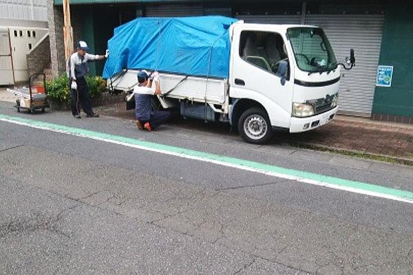 埼玉県北本市に作業員3名、車2台でお伺いしました。