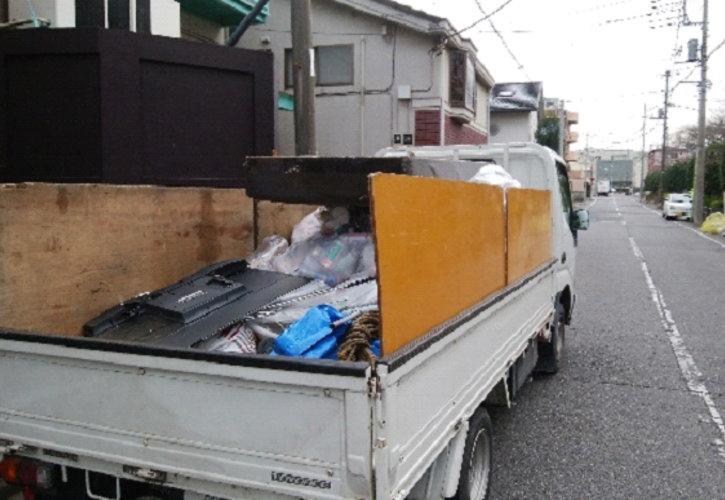 洗濯機やTV等もすべて回収しました。