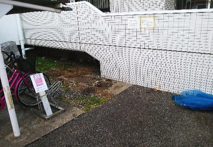 久喜市不法投棄の回収後の様子です。