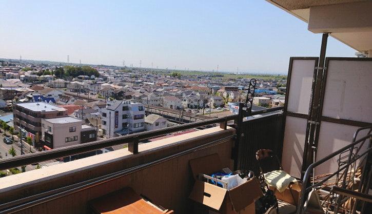 7階だから良い眺め