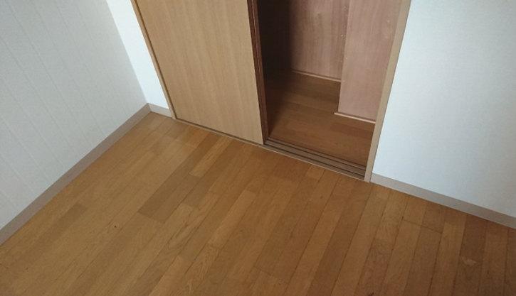 床は簡易清掃