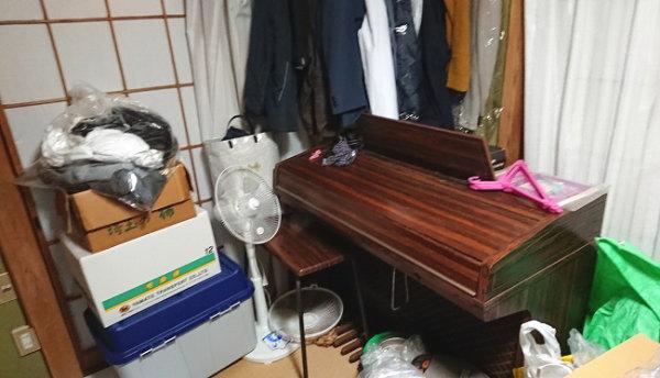 遺品ピアノ