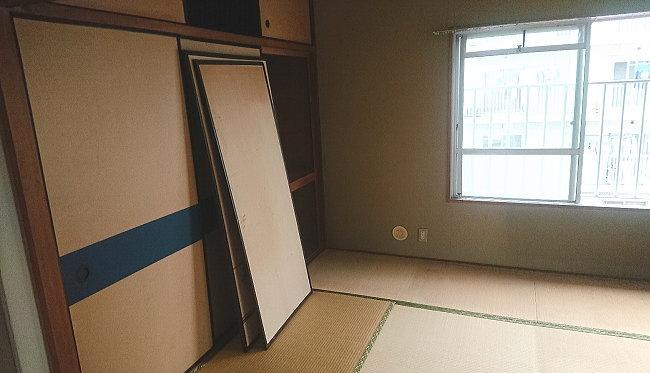 生前整理後の部屋