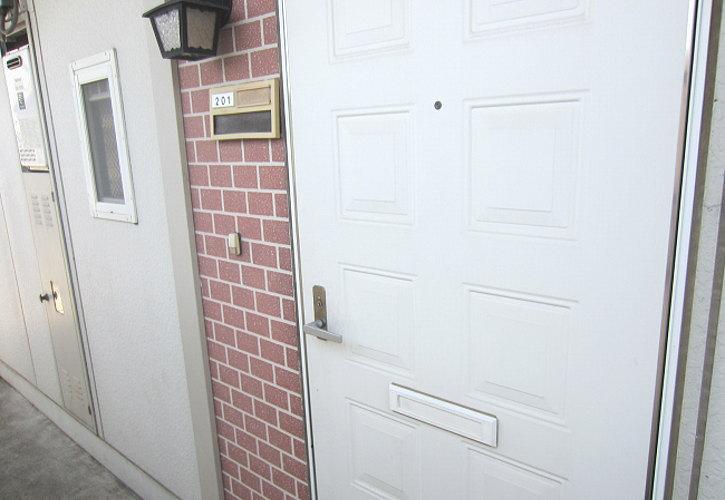 ドアもきれいです。